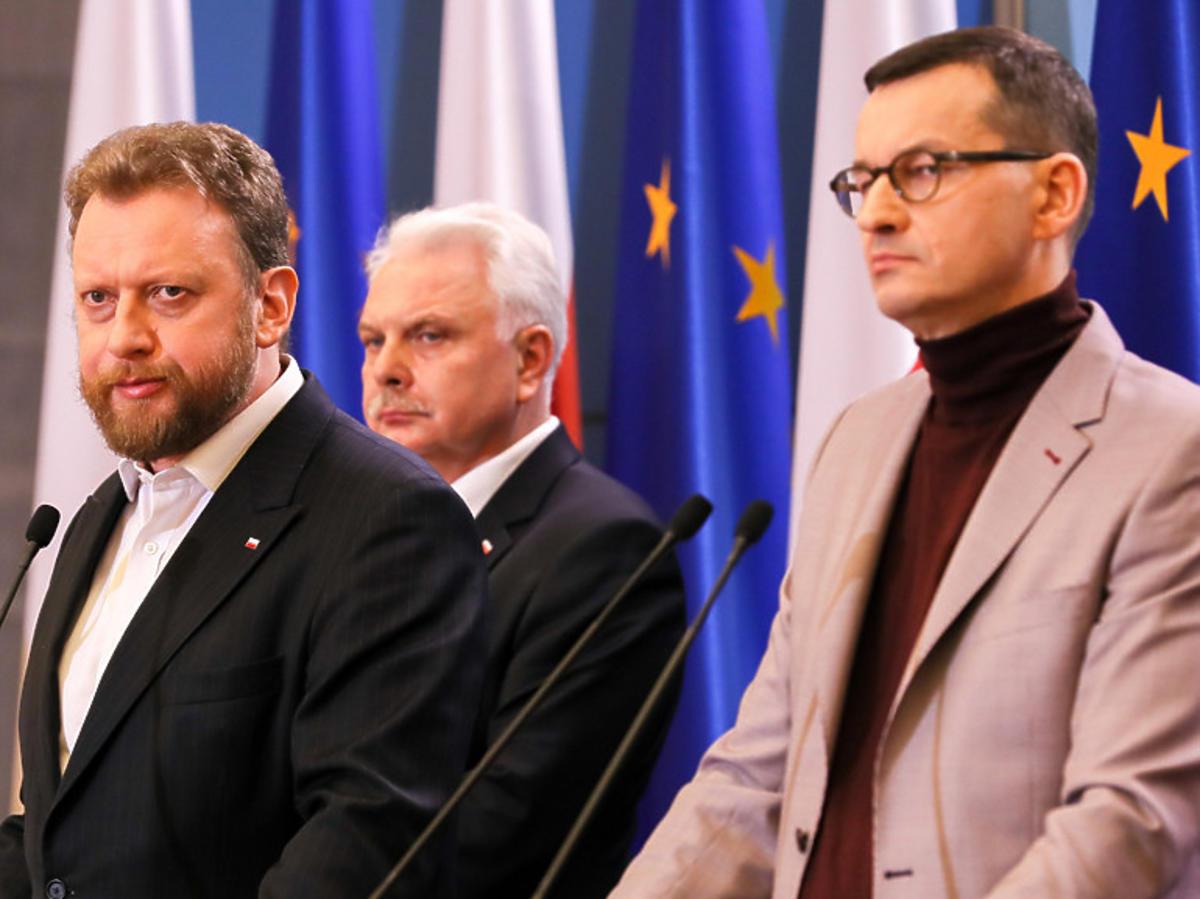 Koronawirus w Polsce. Konferencja Łukasza Szumowskiego i Mateusza Morawieckiego