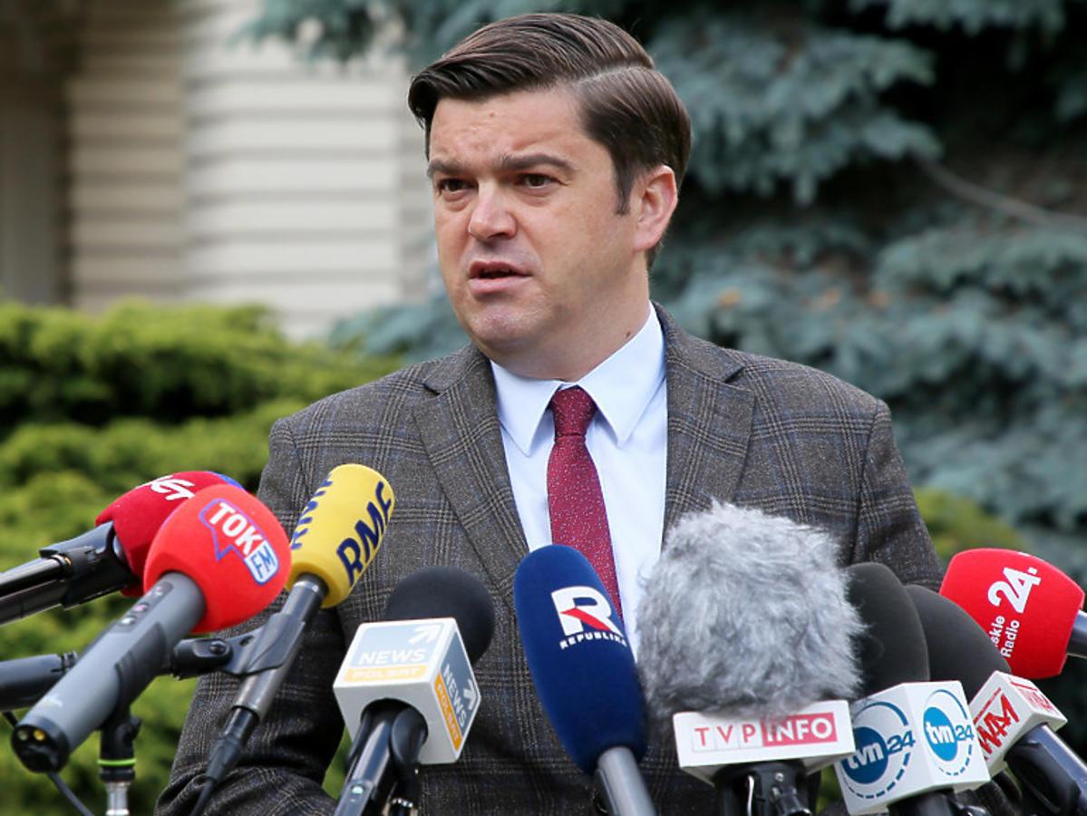 Koronawirus w Polsce, rzecznik ministra zdrowia Wojciech Andrusiewicz