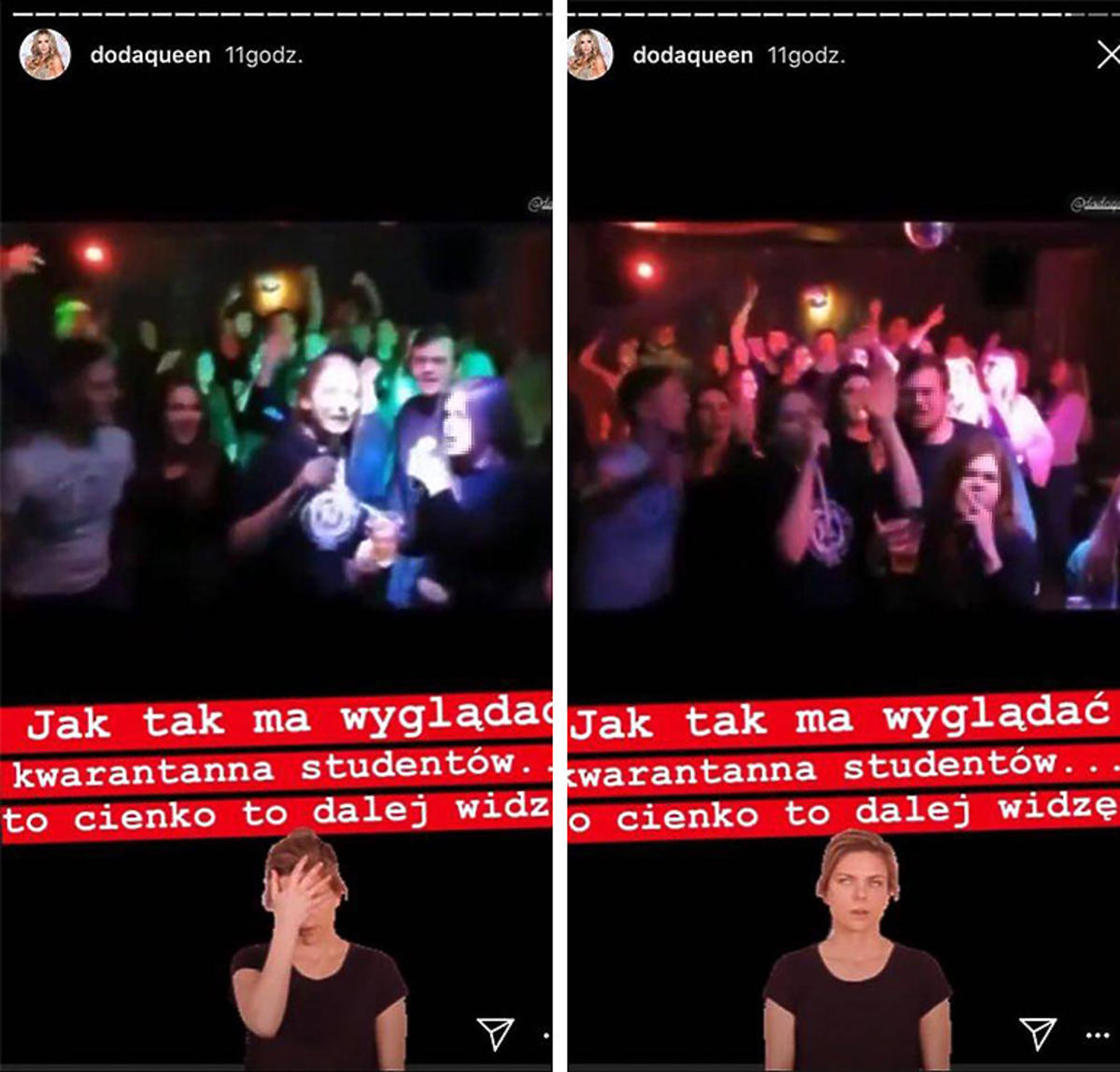 Koronawirus w Polsce. Skandaliczne zachowanie studentów.