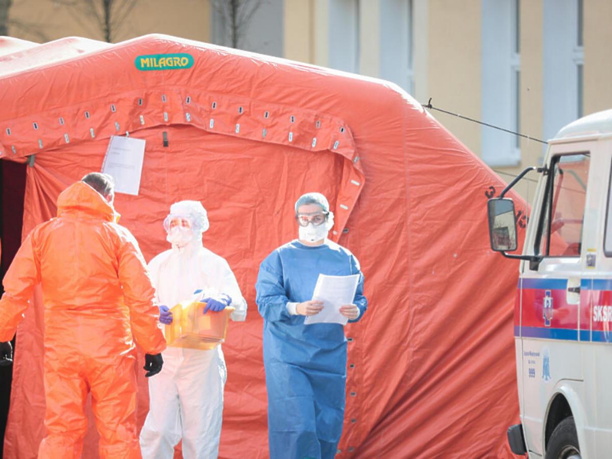 Koronawirus w Polsce. Sytuacja w szpitalach