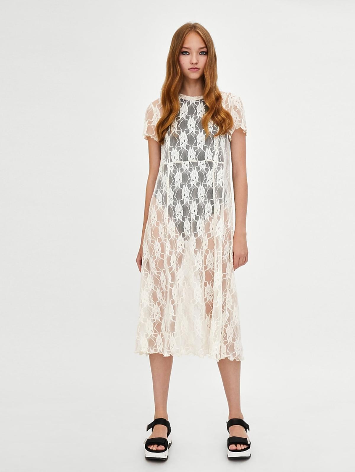 Koronkowa sukienka, 49,90 zł