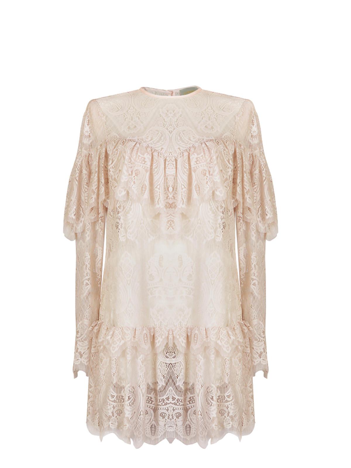 Koronkowa sukienka z falbankami, Zquad, 530,00 zł