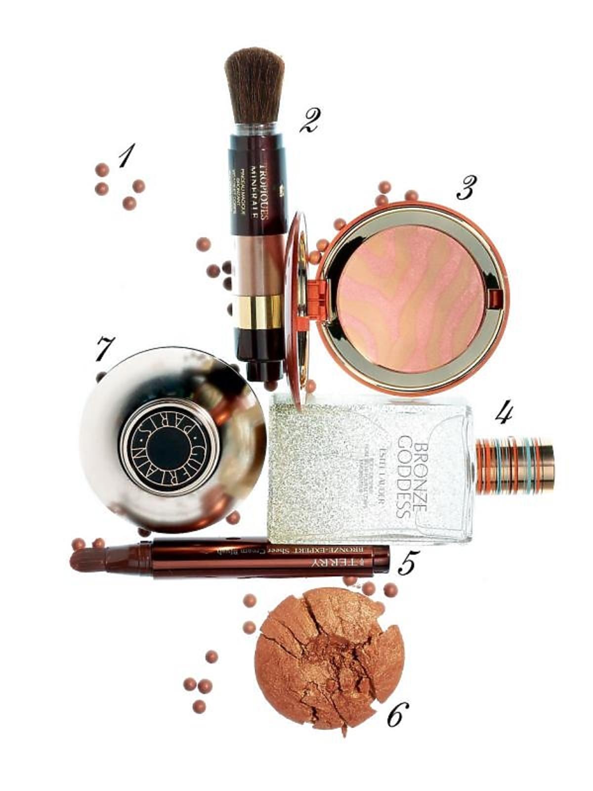 kosmetyki brązujące