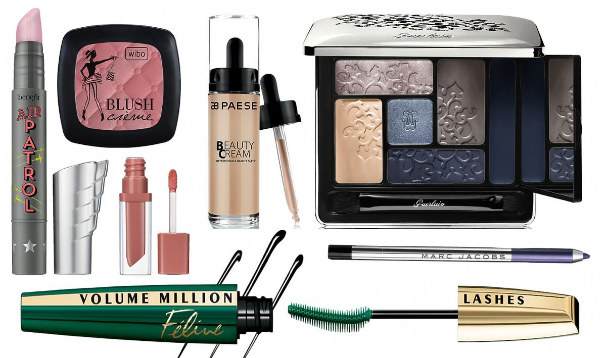 Kosmetyki do smoky eyes Doroty Gardias, Gurelain, Wibo, L'Oreal Paris, Paese, Benefit