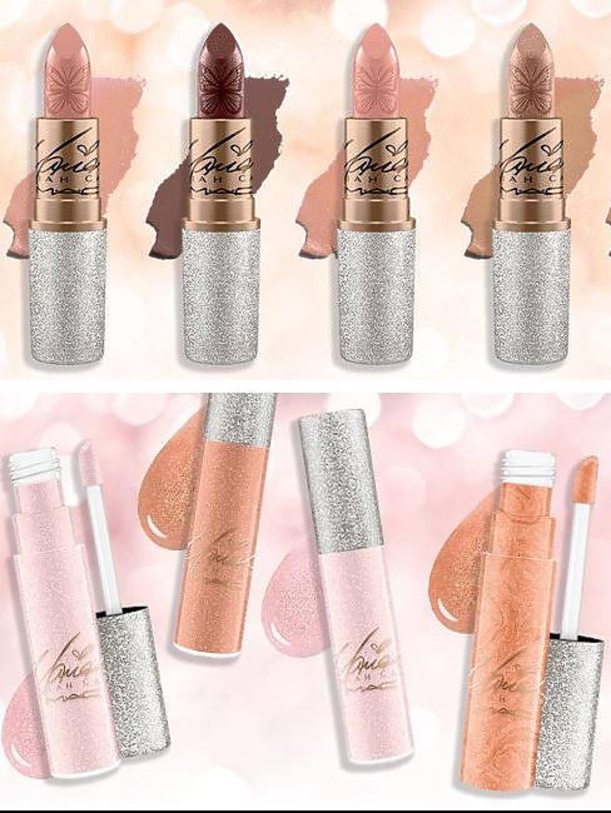 Kosmetyki Mariah Carey dla MAC - pomadki