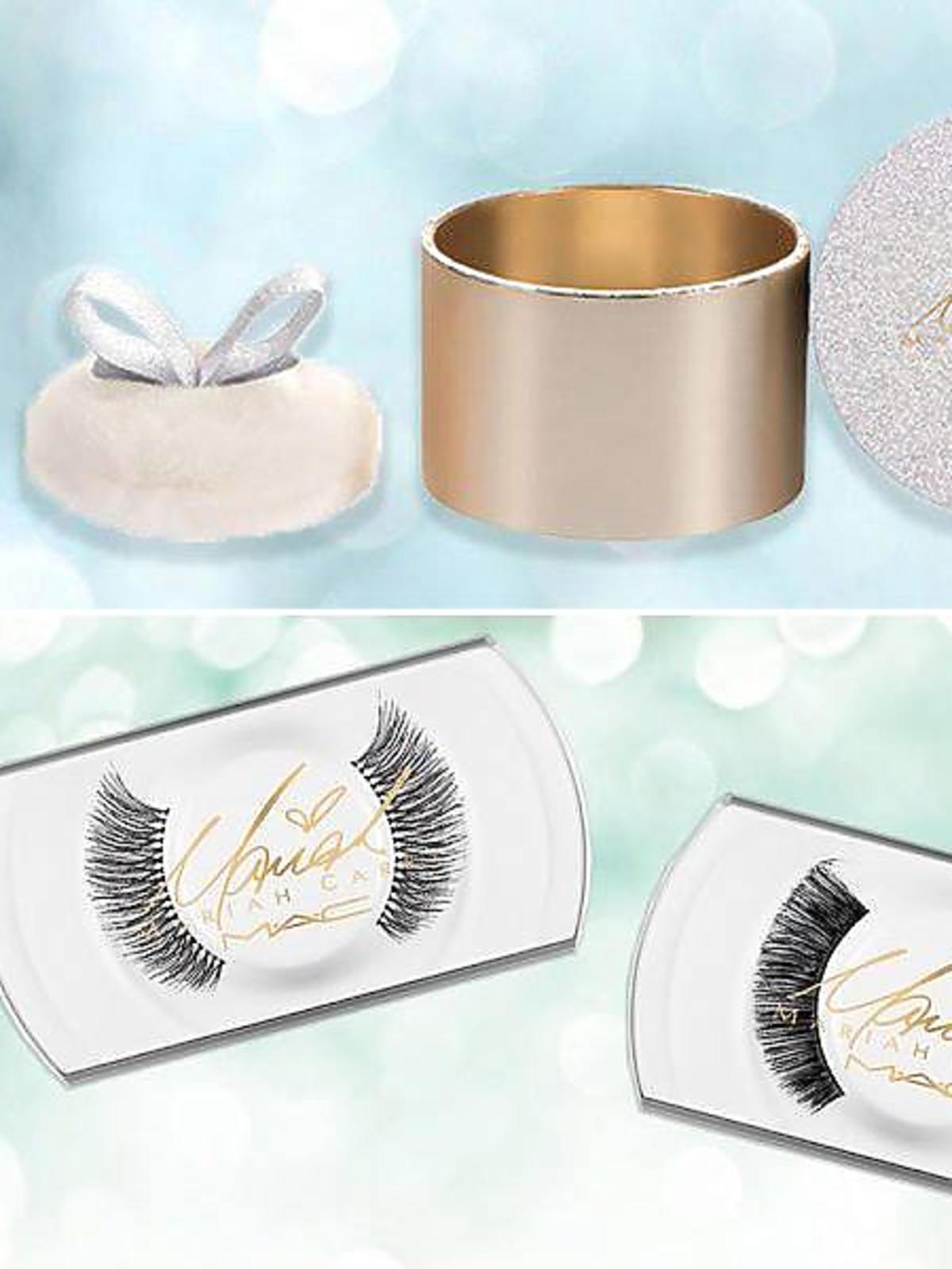 Kosmetyki Mariah Carey dla MAC: puder, sztuczne rzęsy