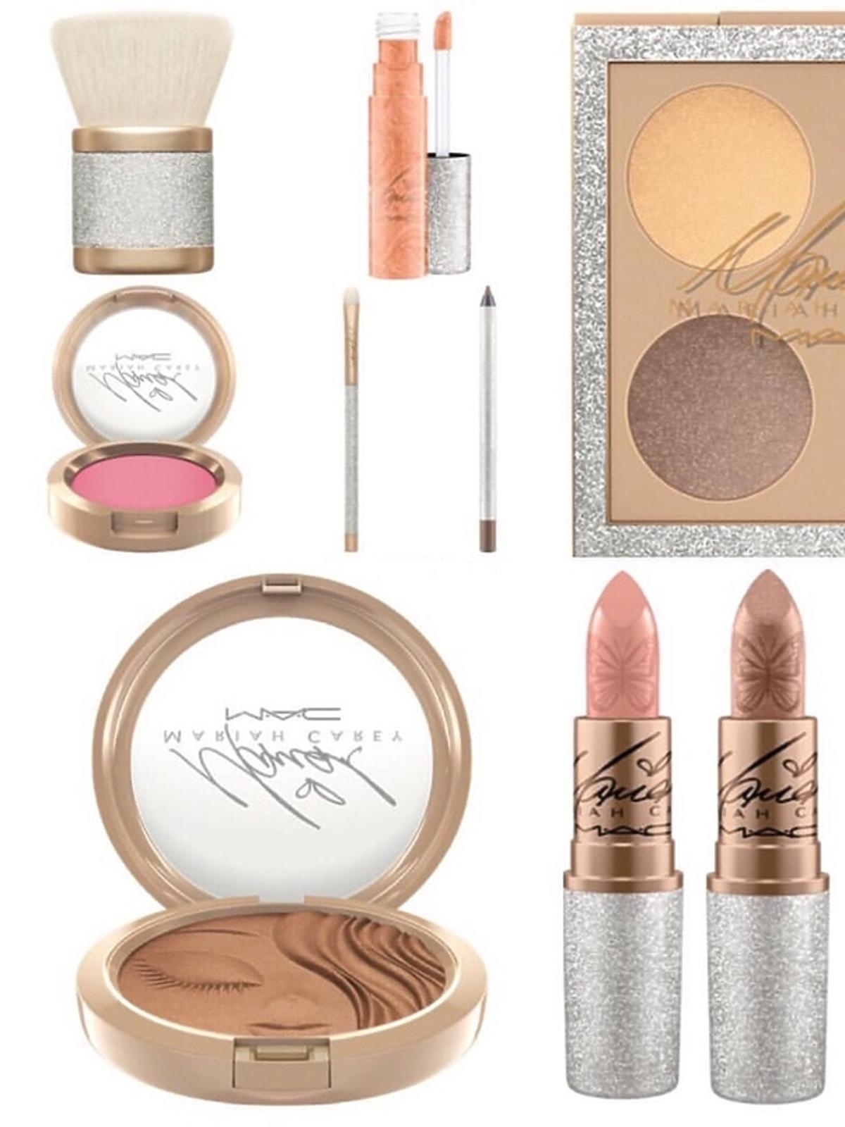 Kosmetyki Mariah Carey dla MAC: szminki, paleta cieni, bronzer