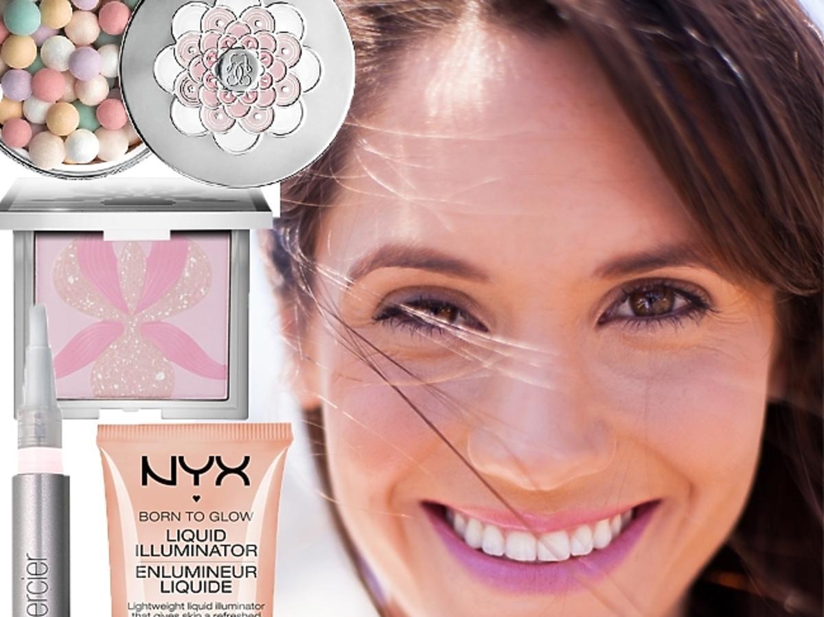Kosmetyki rozświetlające do twarzy