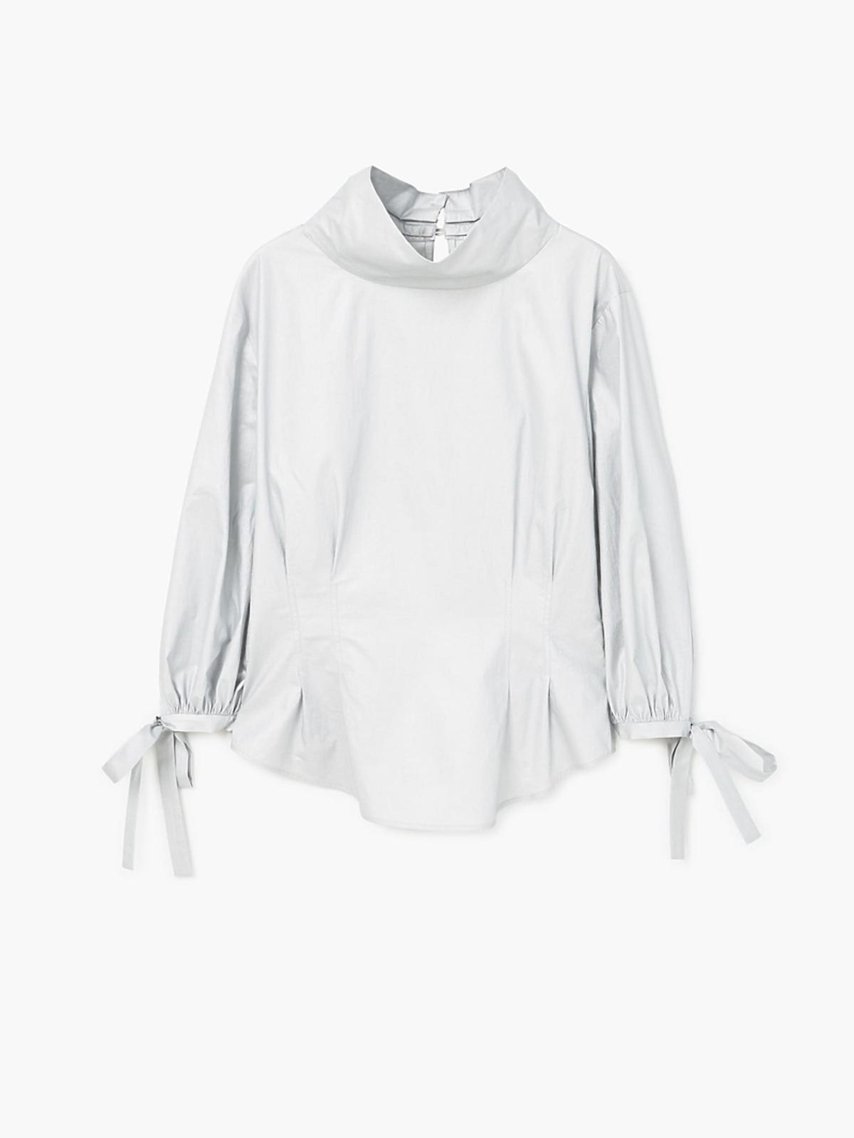 Koszula oversize z wiązaniami przy rękawach Mango, 229 zł