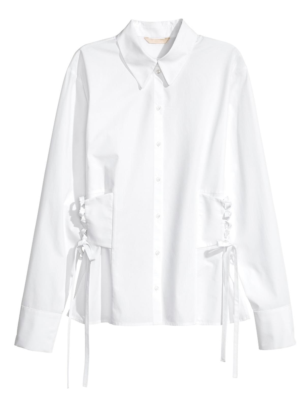 Koszula ze sznurowaniem H&M, 139,90 zł