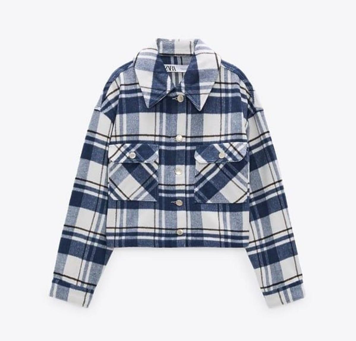 Koszulowa kurtka z Zary