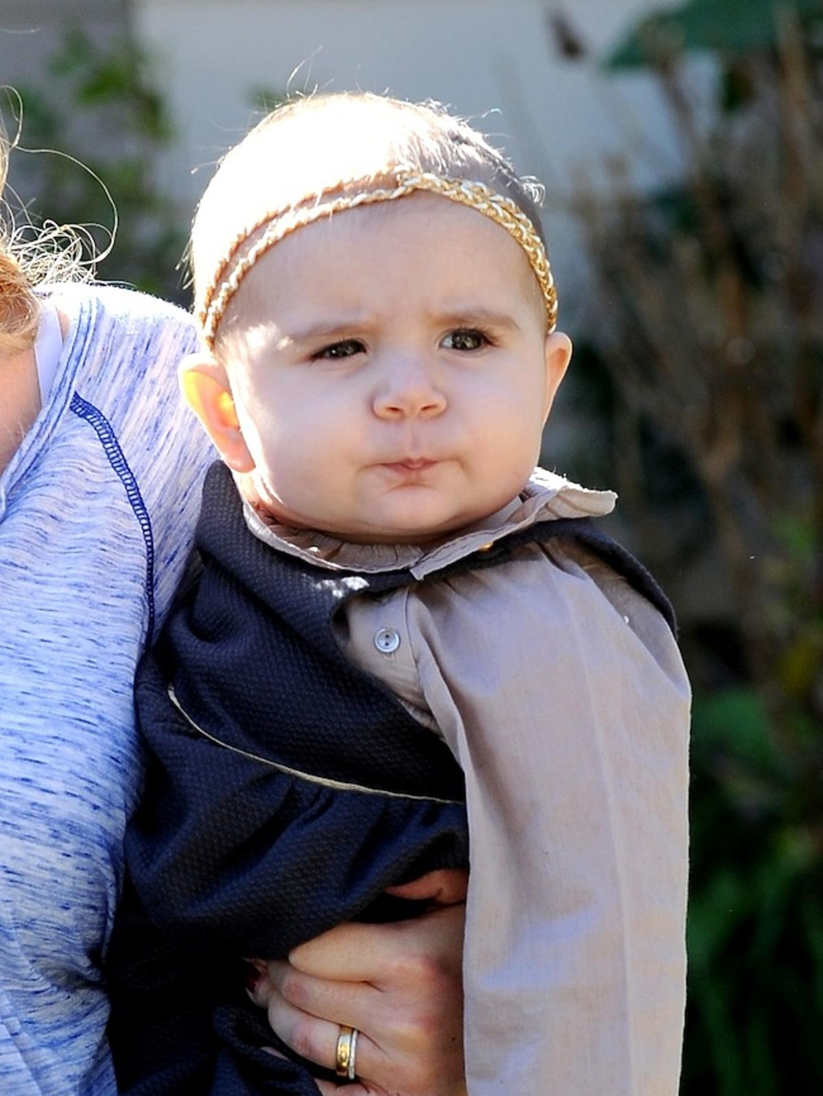 Kourtney Kardashian z córką Penelope i synem Mansonem