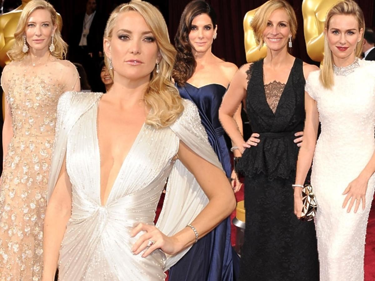 Kreacje gwiazd - Oscary 2014