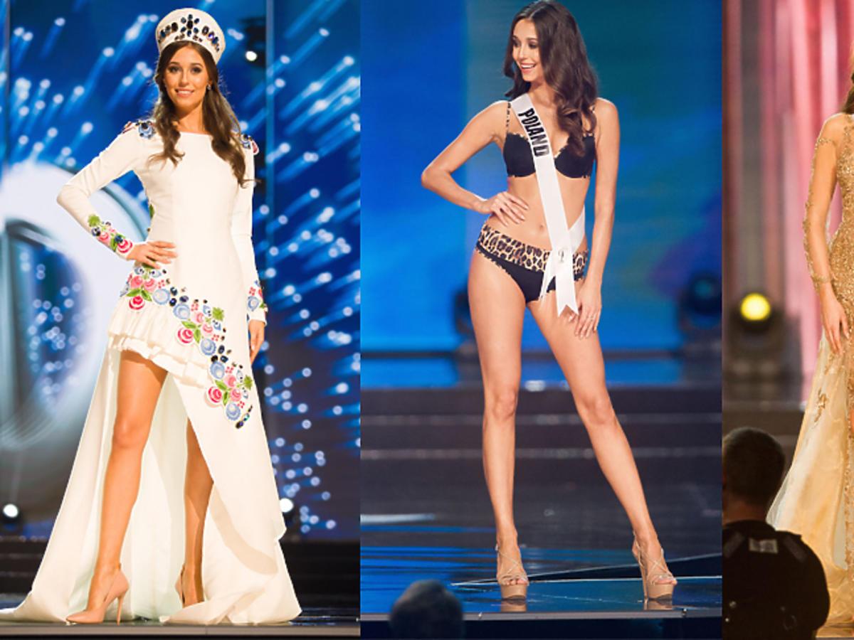 Kreacje Miss Polonia na Miss Universe