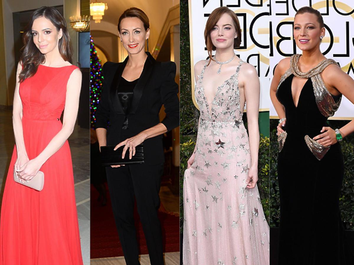 Kreacje w stylu gwiazd: suknia Anna Wendzikowska, Anna Kalczyńska, Emma Stone, Blake Lively, Malwina Wędzikowska