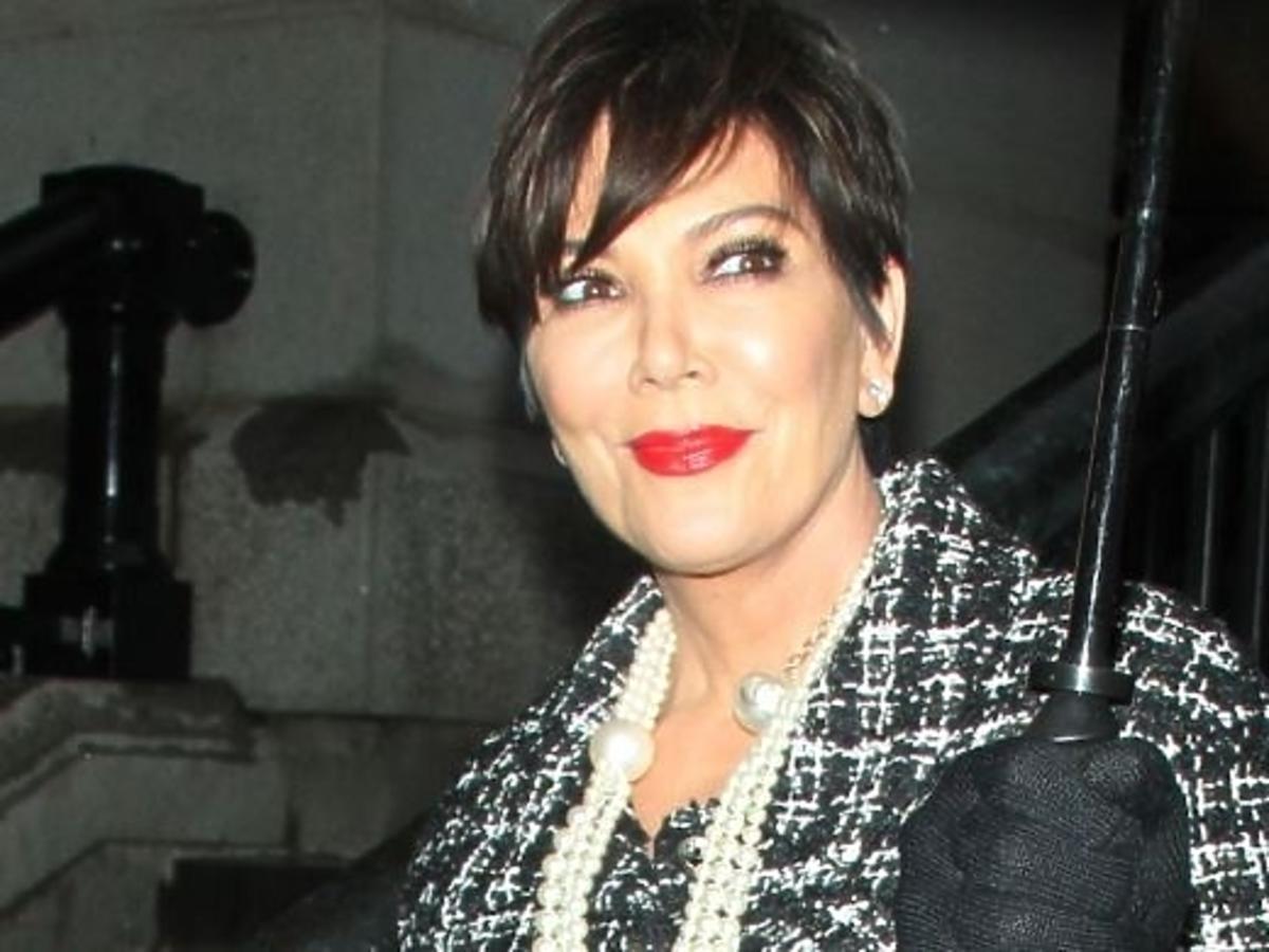 Kris Jenner na pokazie Chanel