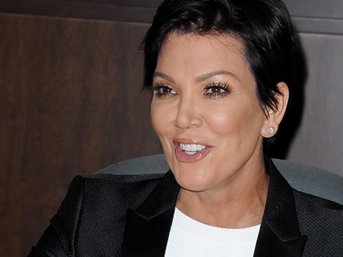 """Kris Jenner na promocji swojej książki """"W kuchni z Kris"""""""