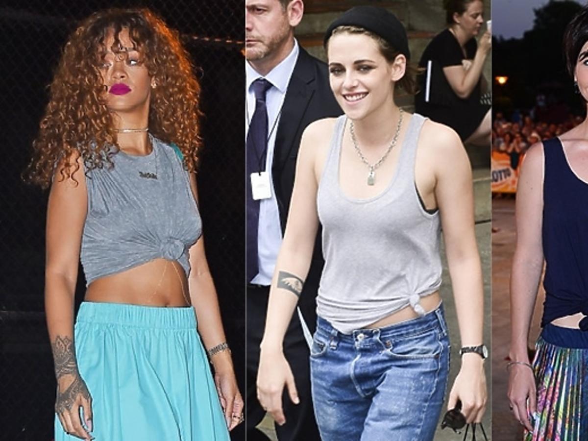Kristen Stewart, Rihanna, Paulina Drażba,
