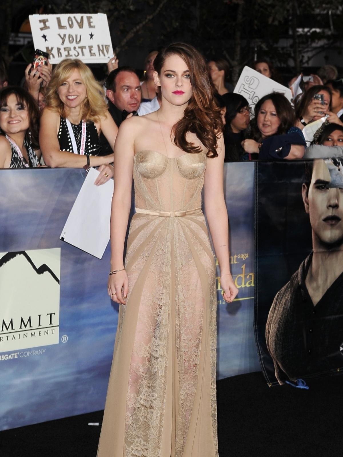 Kristen Stewart w sukni Zuhaira Murada
