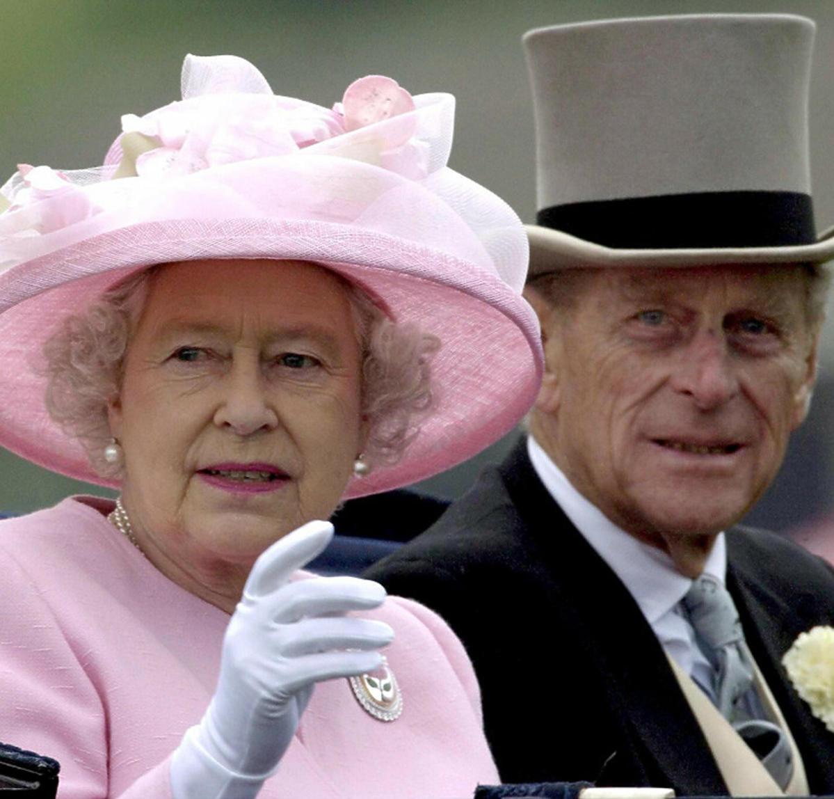 Królowa Elżbieta i książę Filip