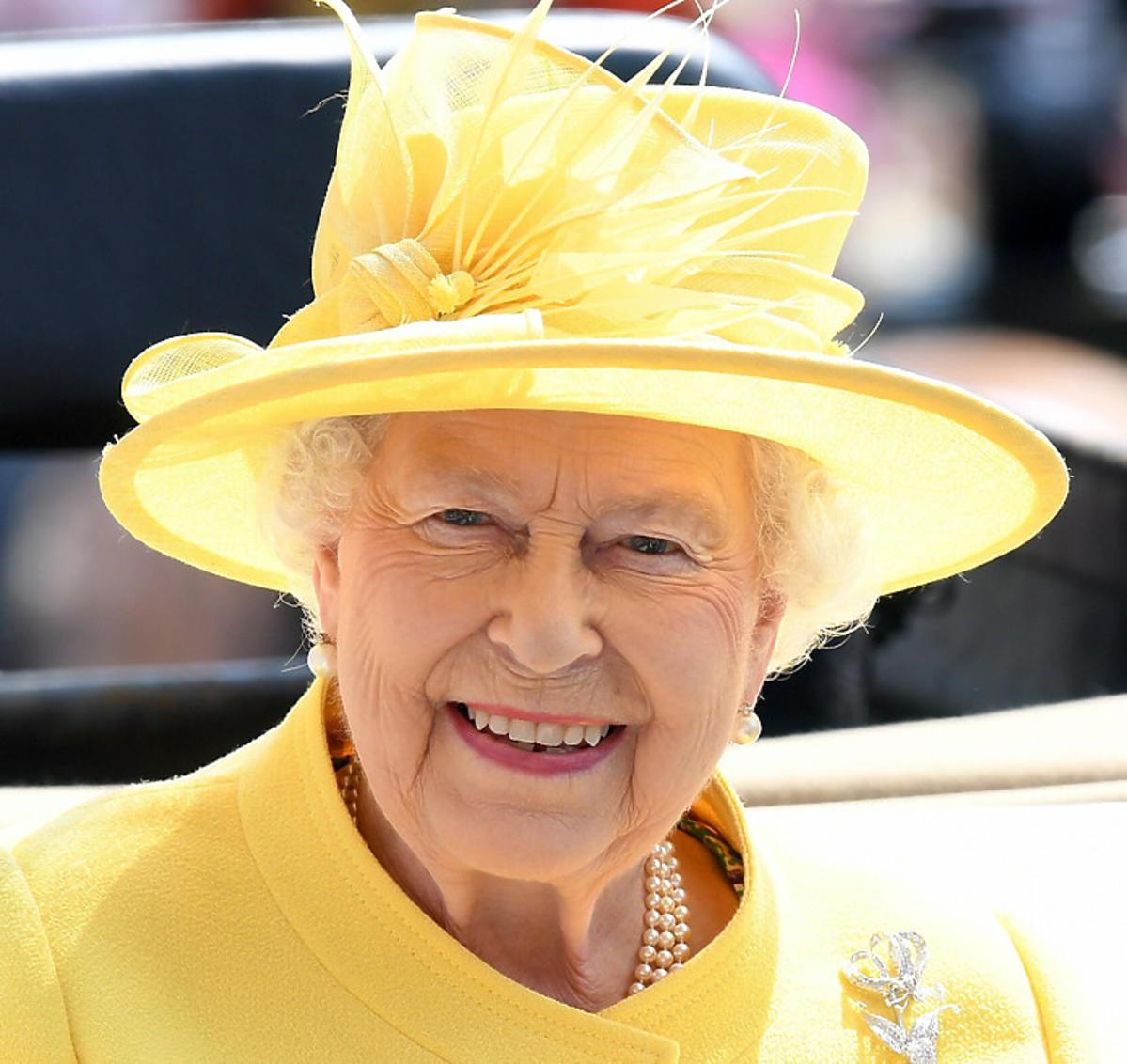 Królowa Elżbieta II, portret