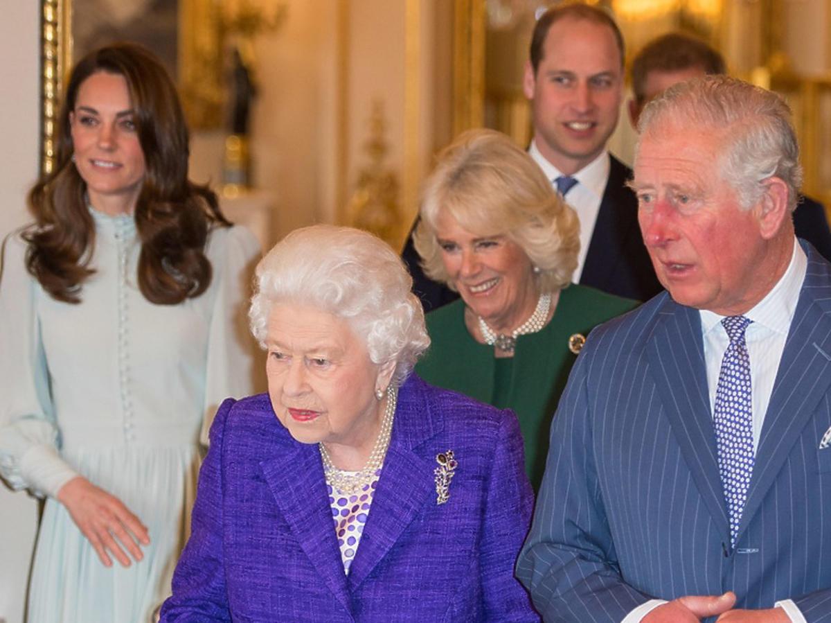 królowa Elżbieta, księżna Kate, Meghan Markle razem na rodzinnej imprezie