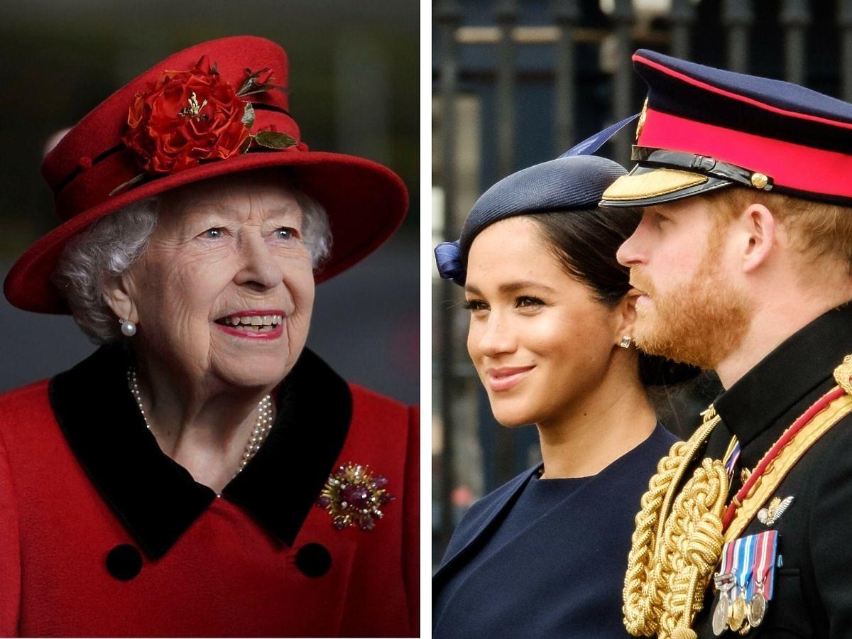 Królowa Elżbieta poznała córkę Meghan i Harry'ego