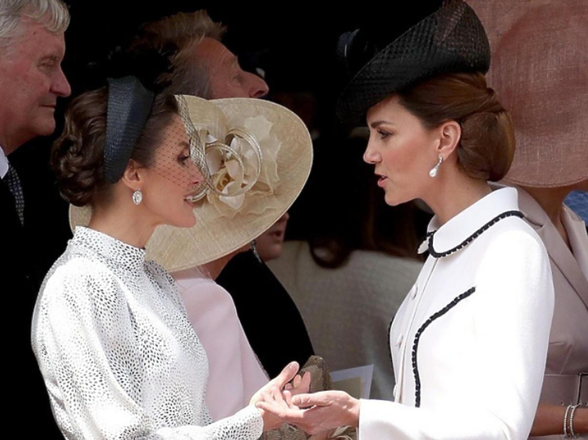 Królowa Letizia, księżna kate