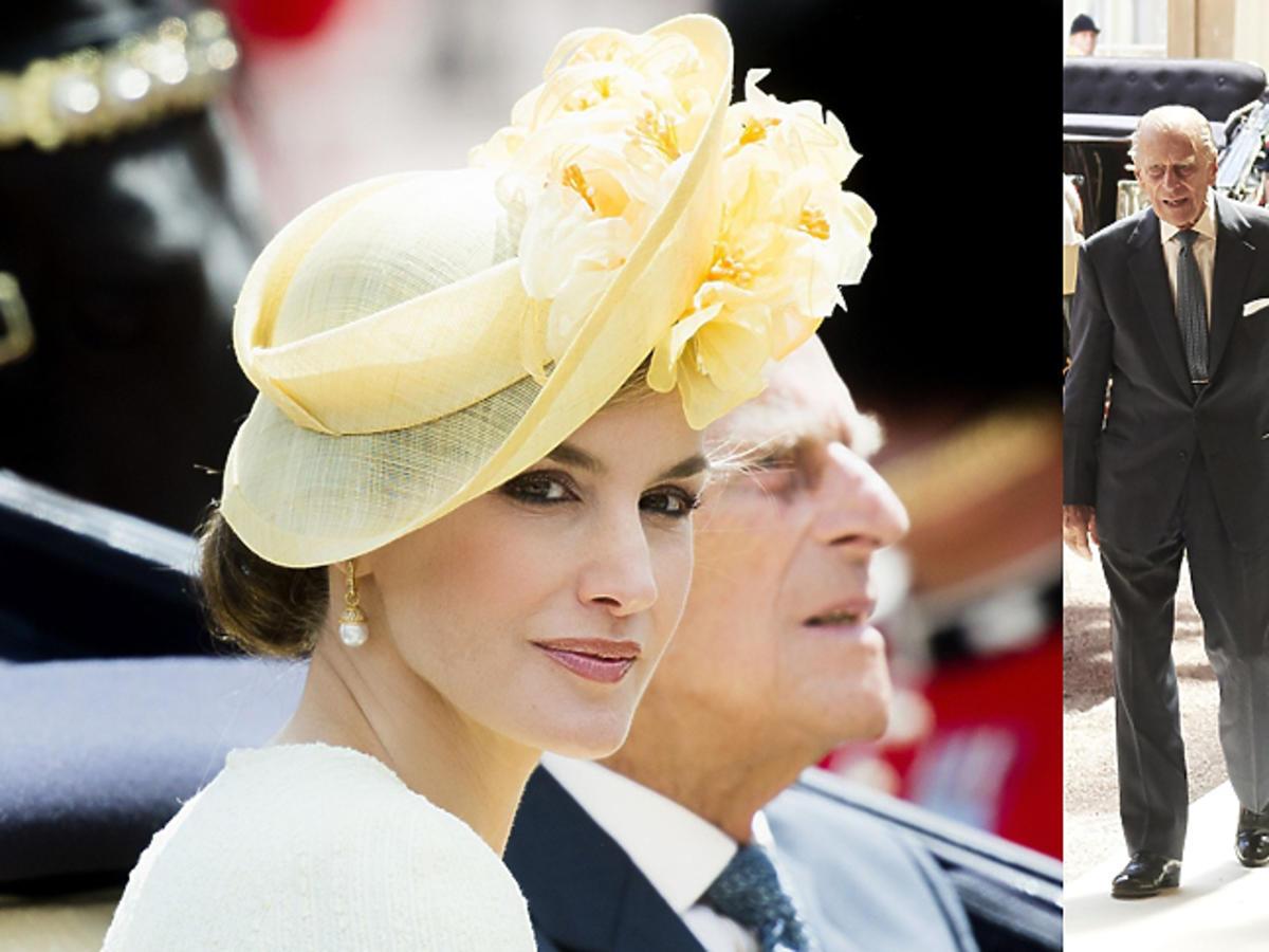 Królowa Letycja na wizycie w Wielkiej Brytanii
