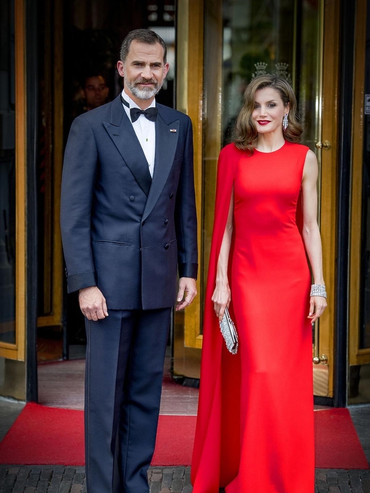 Królowa Letycja w sukni Stella McCartney