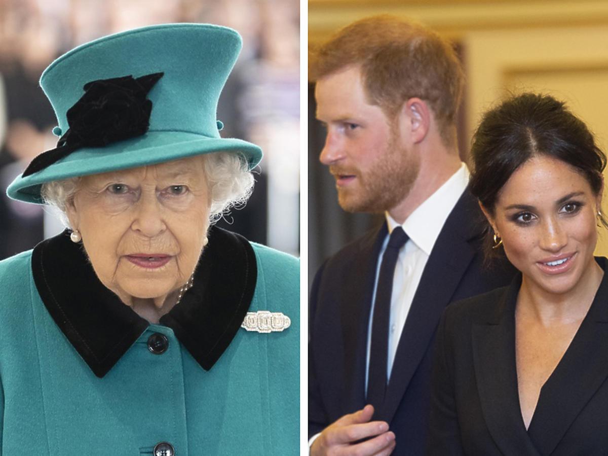 Królowa o przyszłości Meghan i Harry'ego
