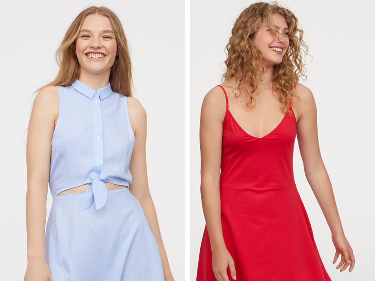 Krótka sukienka H&M cena 29,90 zł