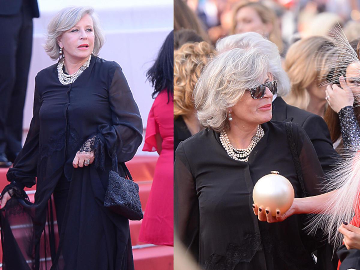 Krystyna Janda i Dominika Kulczyk w Cannes