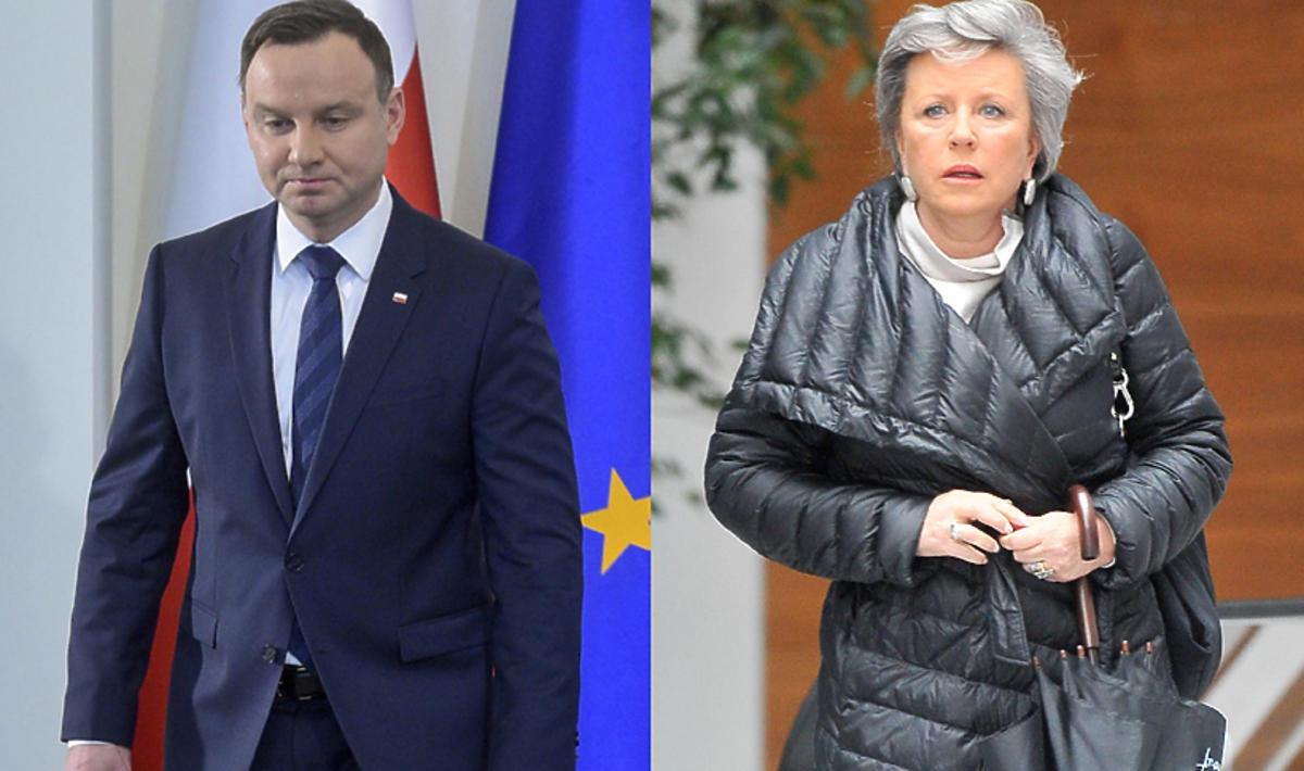 Krystyna Janda w emocjonalnym wpisie apeluje do Andrzeja Dudy