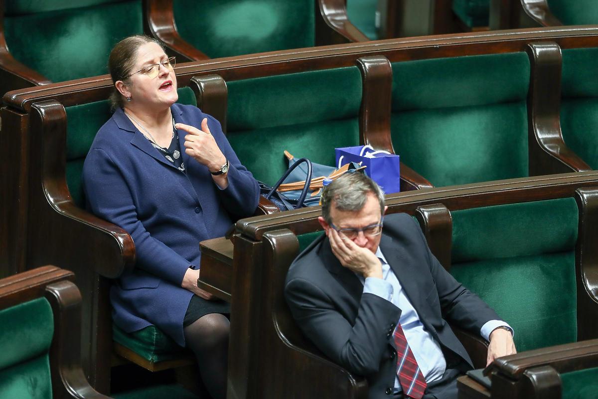 Krystyna Pawłowicz z PiS