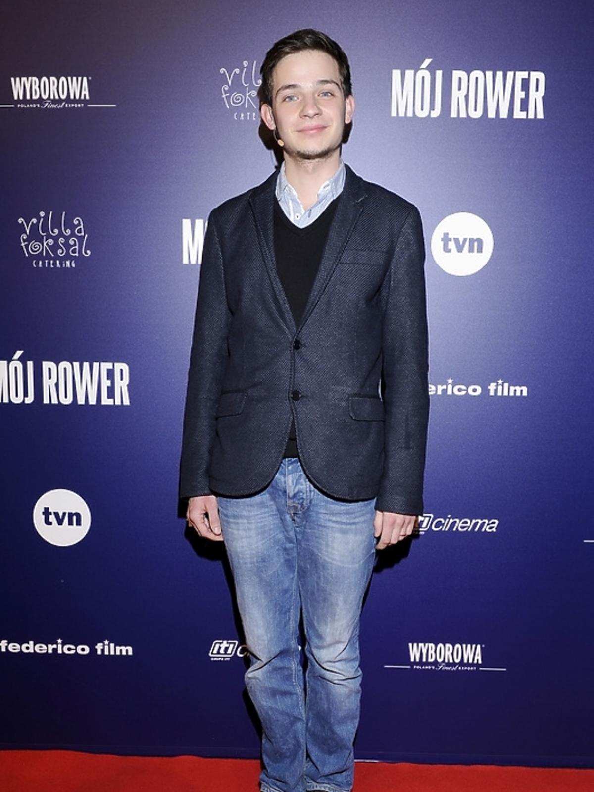 Krzysztof Chodorowski na premierze filmu