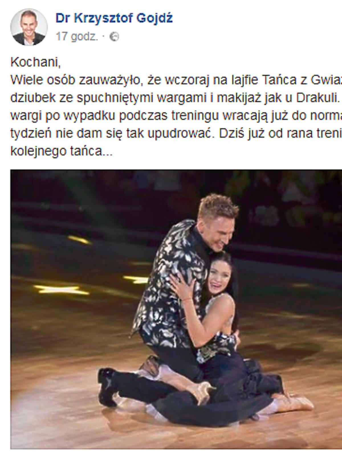 Krzysztof Gojdź - co zrobi z pieniędzmi z Tańca z Gwiazdami?