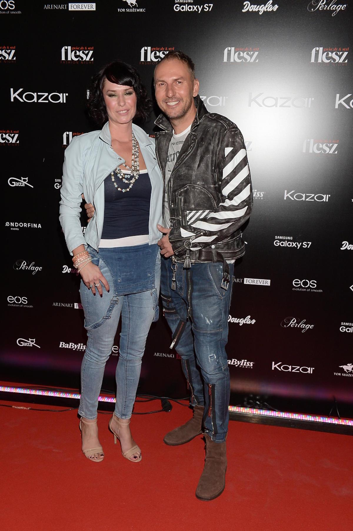 Krzysztof Gojdź na Flesz Fashion Night