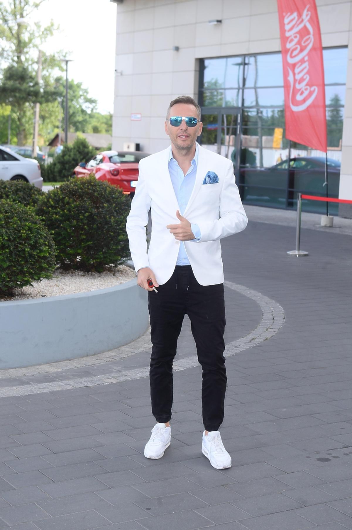 Krzysztof Gojdź na urodzinach hotelu Hilton