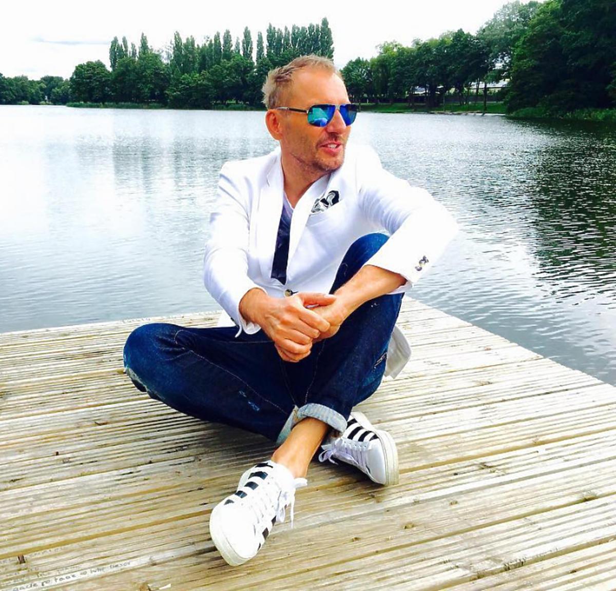 Krzysztof Gojdź na wakacjach