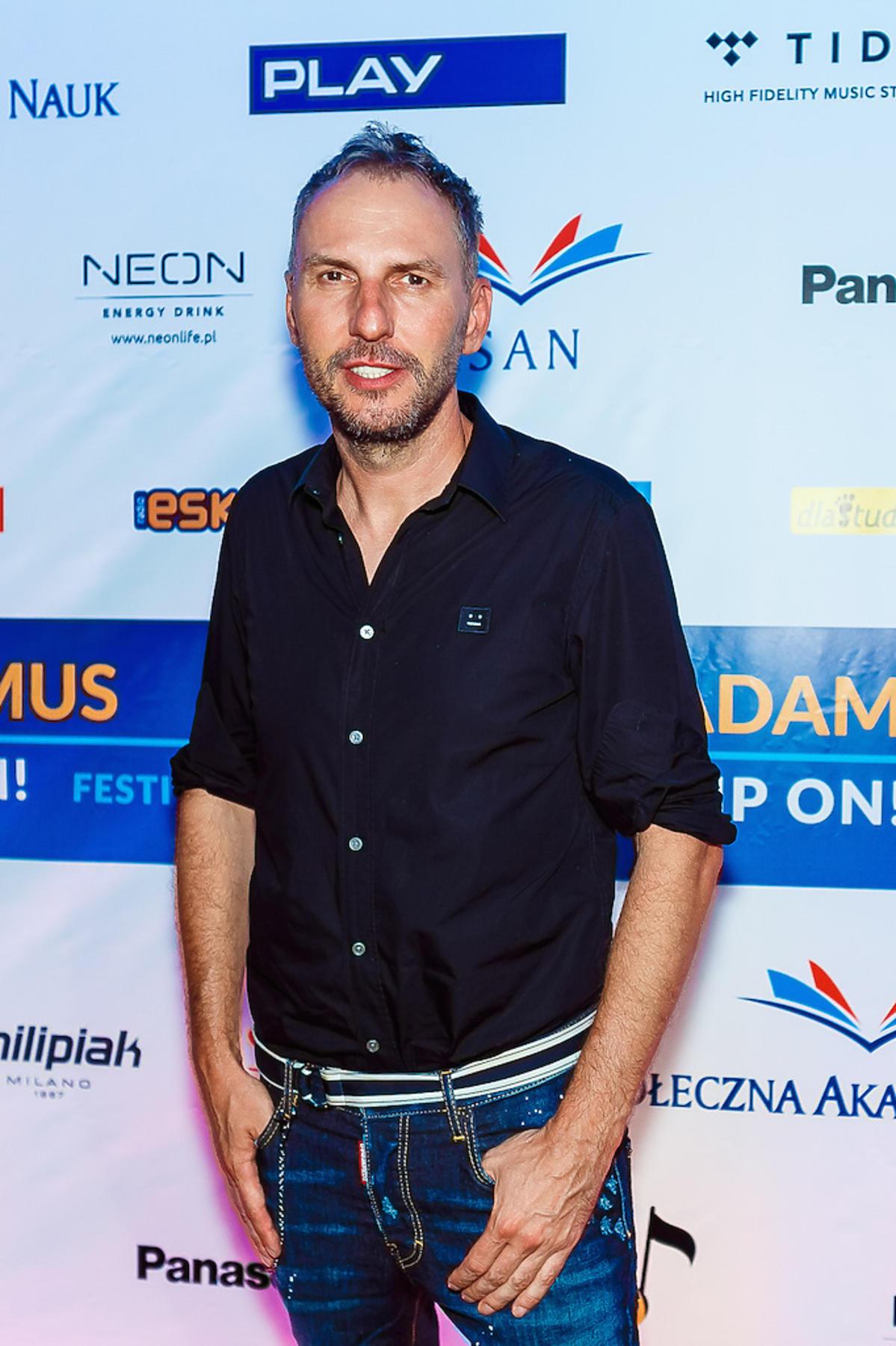 Krzysztof Gojdź podczas DJ Adamus Ibiza Camp On