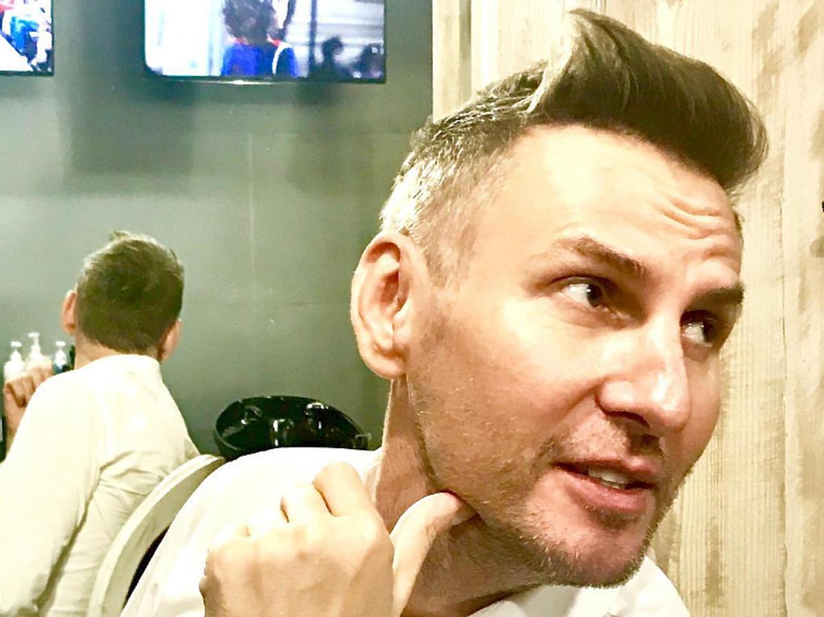 Krzysztof Gojdź zmienił fryzurę