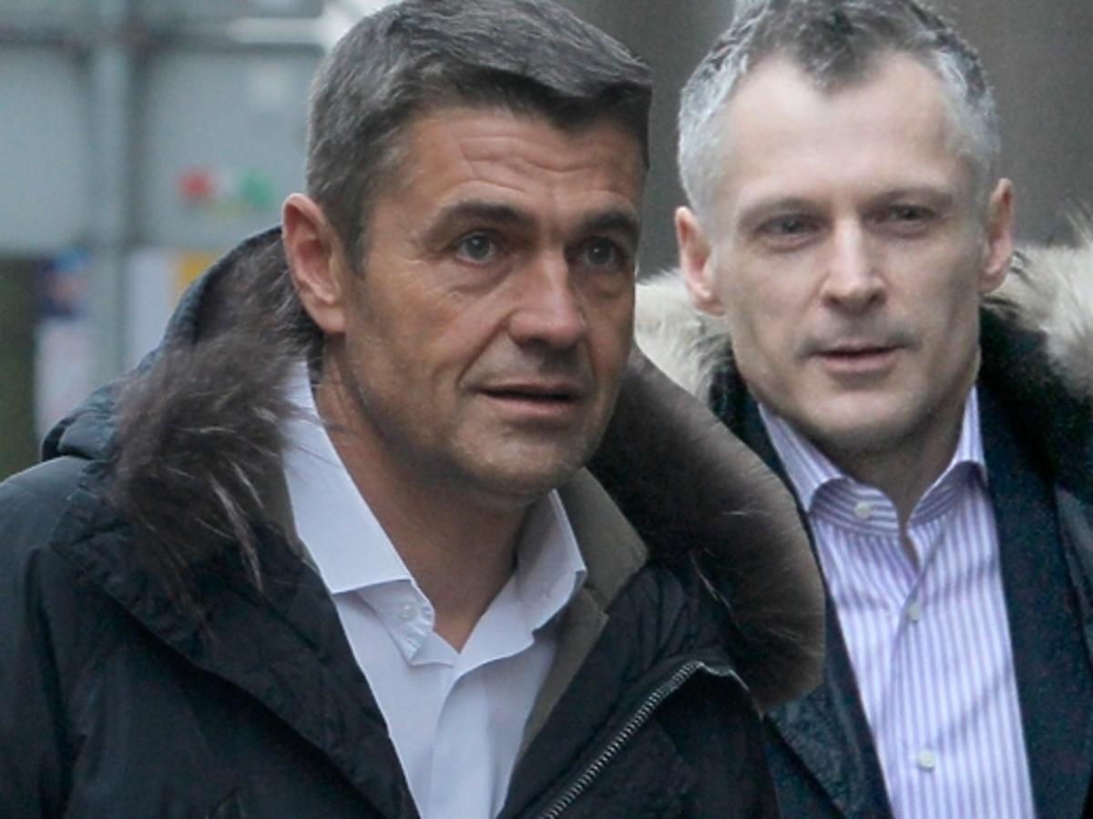 Krzysztof Hołowczyc i Robert Kozyra pod studiem DDTVN