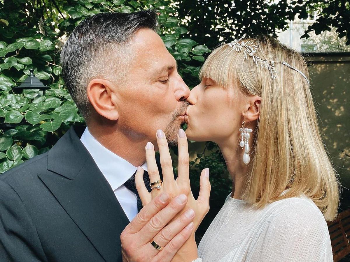 Krzysztof Ibisz już po ślubie
