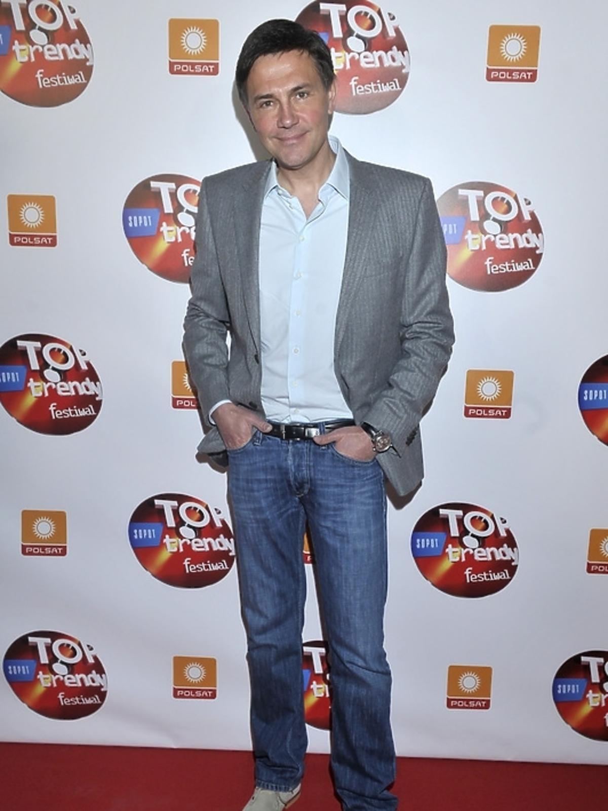 Krzysztof Ibisz na konferencji Top Trendy 2013