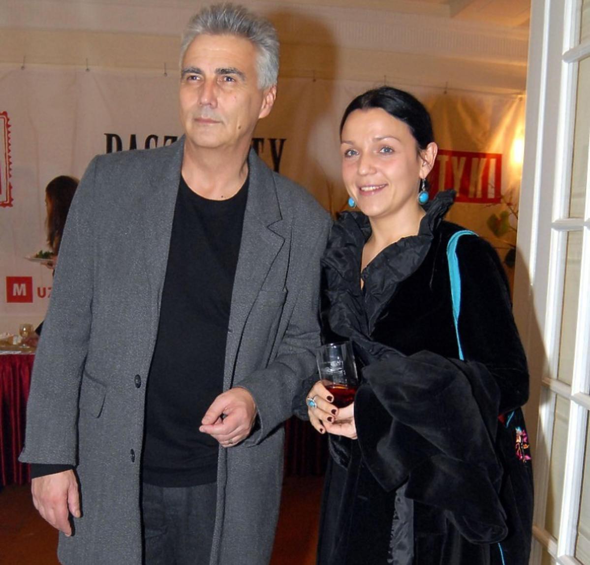 Krzysztof Krauze i Joanna Kos-Krauze na Paszportach Polityki w 2006 roku