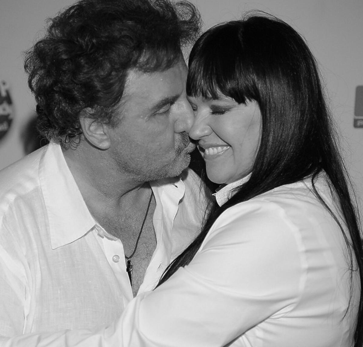Krzysztof Krawczyk z żoną Ewą Krawczyk