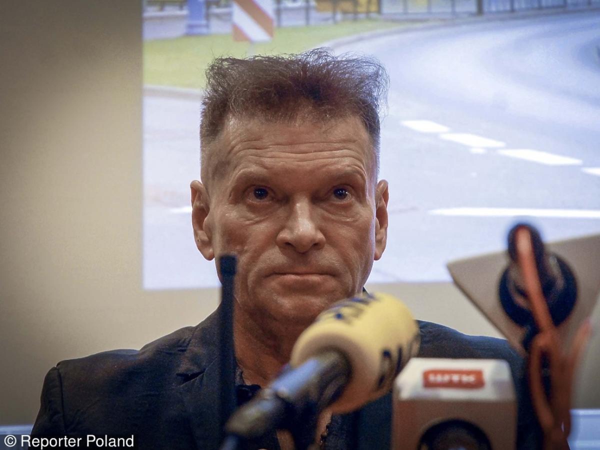 Krzysztof Rutkowski na konferencji
