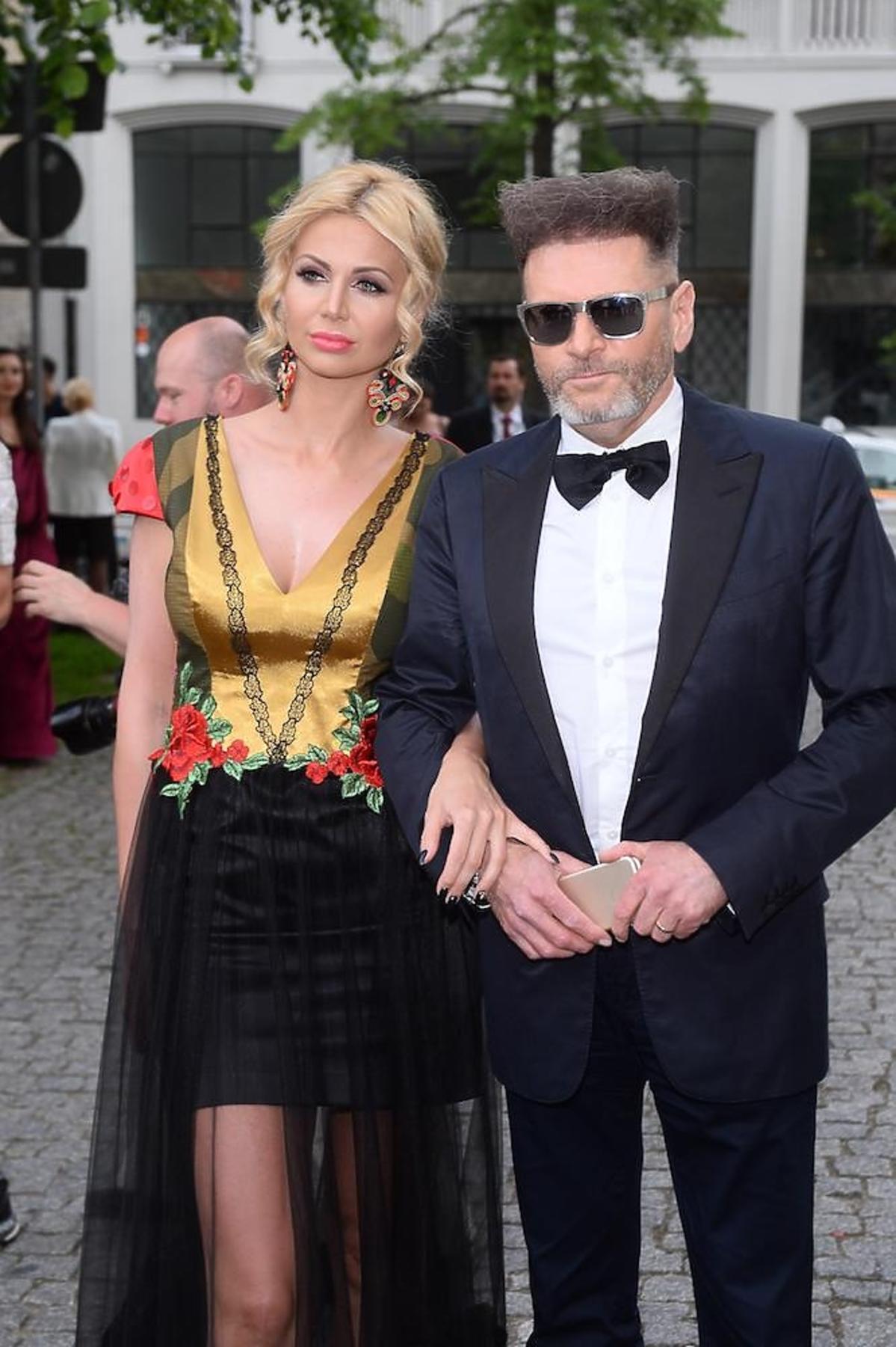 Krzysztof Rutkowski z partnerką