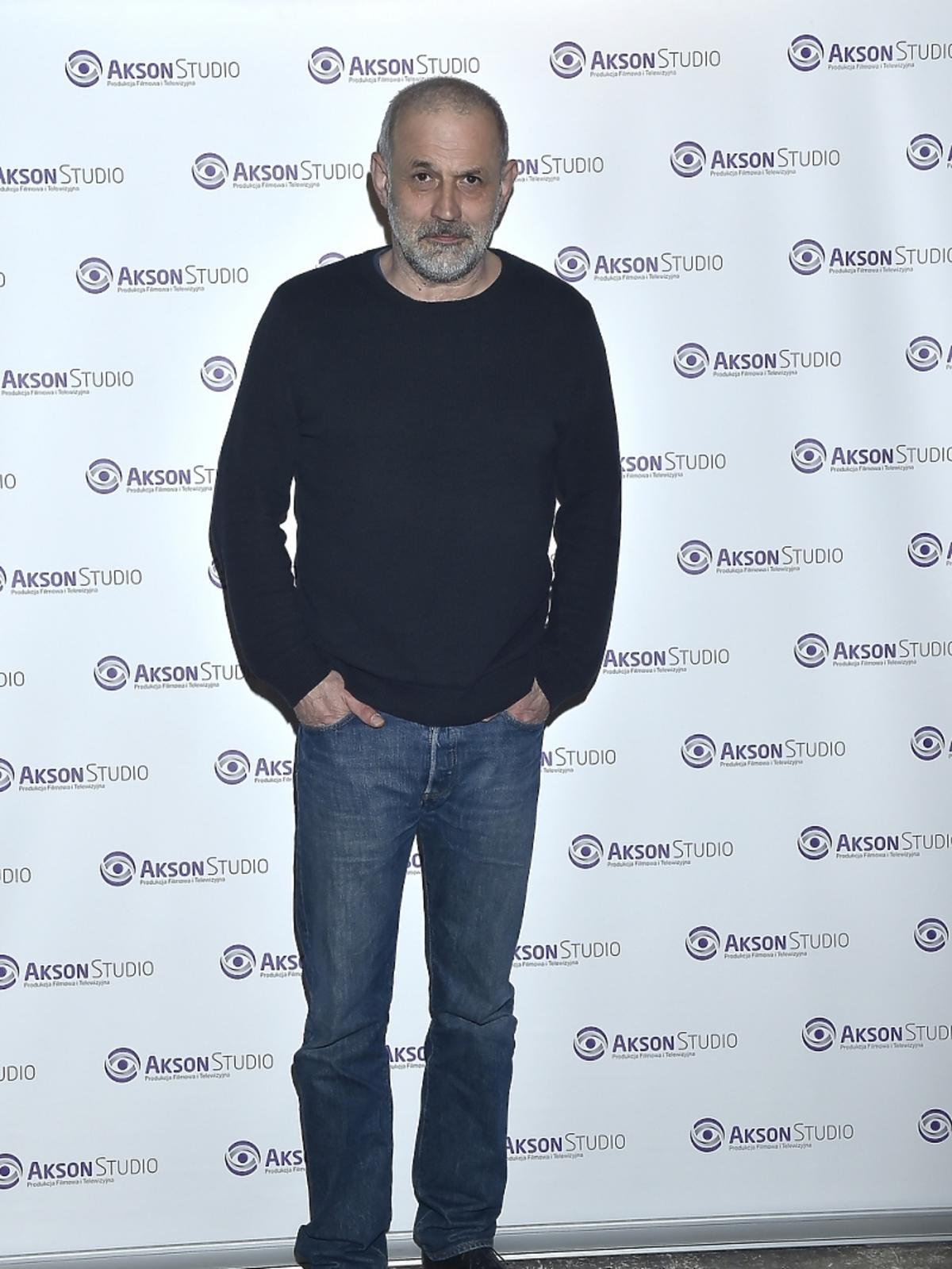 Krzysztof Stelmaszczyk po zakończeniu zdjęć do serialu